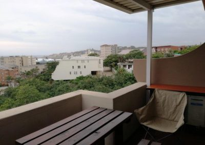 View of Margate from private balcony